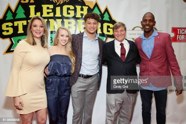 Patrick Mahomes and Leight Steinberg attend Leigh Steinberg Super Bowl Party 2018 on February 3 2018 in Minneapolis Minnesota