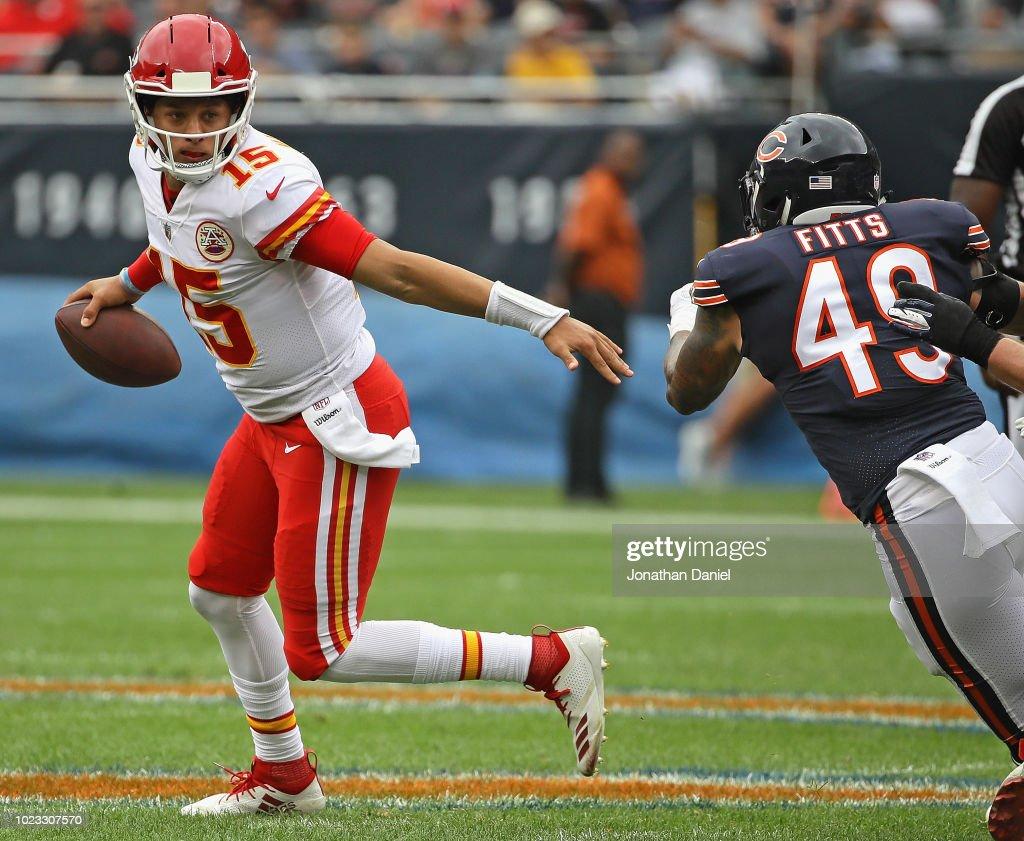 Kansas City Chiefs v Chicago Bears : News Photo