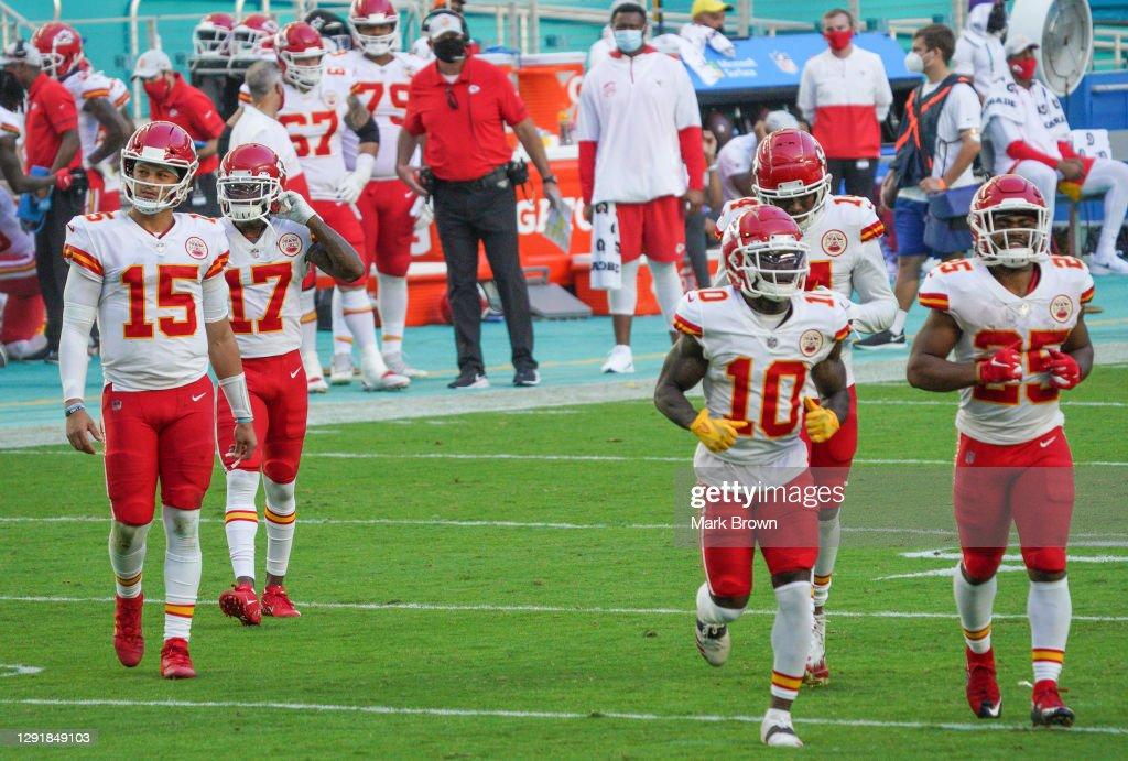 Kansas City Chiefs v Miami Dolphins : News Photo