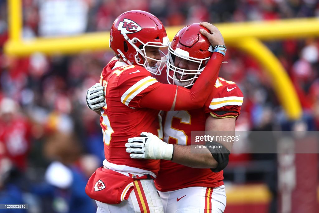 AFC Championship - Tennessee Titans v Kansas City Chiefs : News Photo