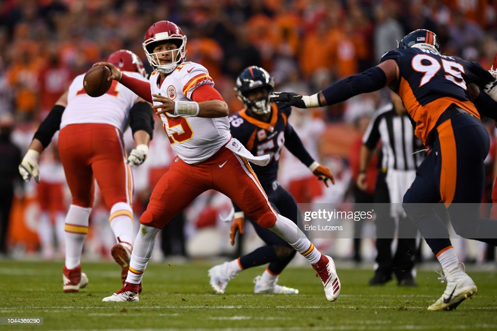Denver Broncos vs. Kansas City Chiefs, NFL Week 4 : News Photo