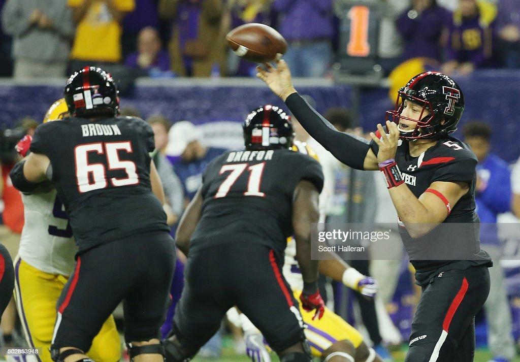AdvoCare V100 Texas Bowl - LSU v Texas Tech : News Photo