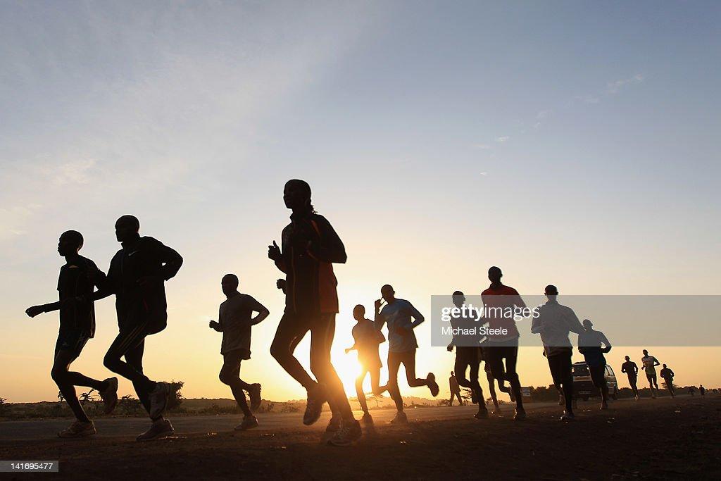 IAAF 'Day In The Life' in Kenya : News Photo