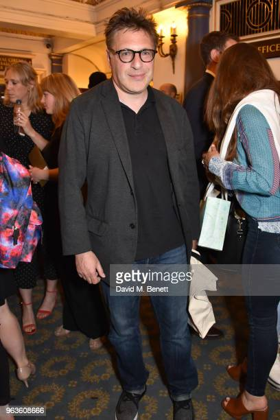 Patrick Marber arrives at the press night performance of 'Consent' at the Harold Pinter Theatre on May 29 2018 in London England
