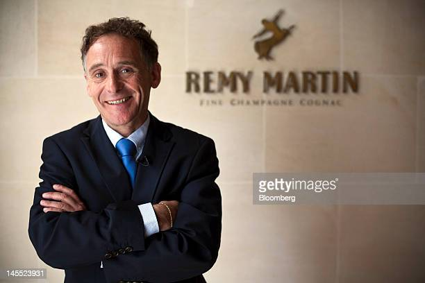 Patrick Mariuz international ambassador for Remy Martin poses for a photograph at the Remy Cointreau SA headquarters in Cognac France on Thursday May...