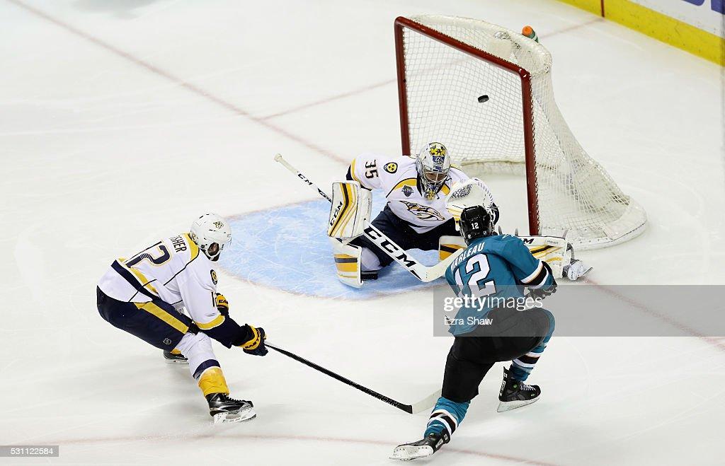 Nashville Predators v San Jose Sharks - Game Seven : News Photo