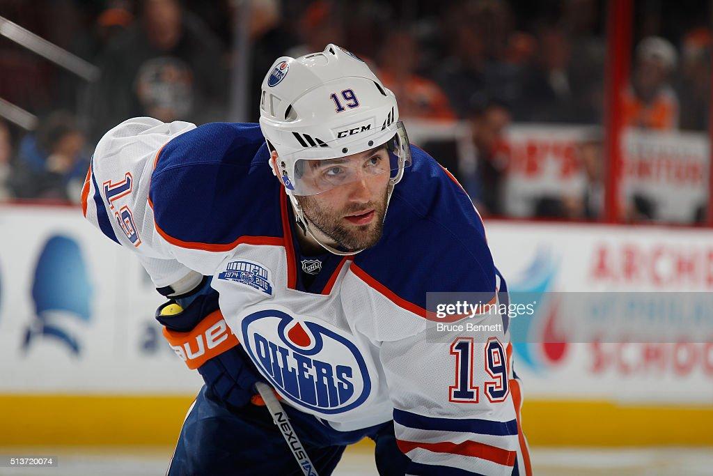 Edmonton Oilers v Philadelphia Flyers : Fotografia de notícias