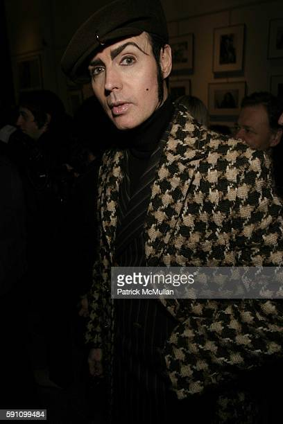 Patrick McDonald attends Edie Sedgwick Unseen Photographs of a Warhol Superstar Opening Reception Hosted by Misha Sedgwick at Gallagher's Art and...