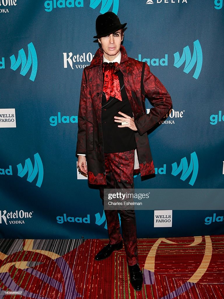 Patrick McDonald attends the 24th annual GLAAD Media awards at The New York Marriott Marquis on March 16, 2013 in New York City.
