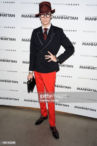 Patrick McDonald attends the Manhattan Magazine Men's Issue Party at PHD Rooftop Lounge at Dream Downtown on April 9 2013 in New York City