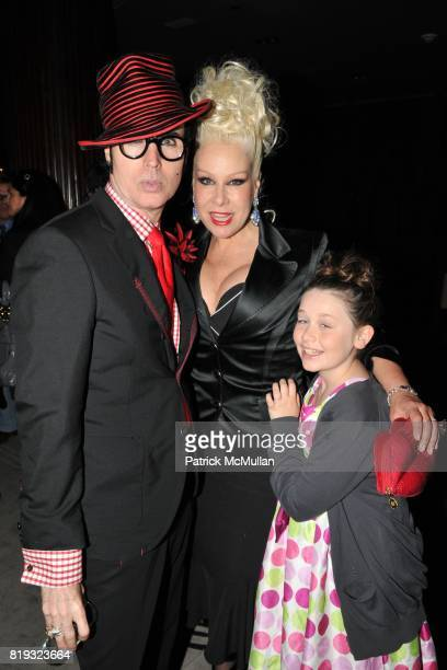 Patrick McDonald Dianne Brill and Celan Brill Vˆlkle attend Birthday Celebration for DIANNE BRILL Hosted by SUSANNE BARTSCH at Royalton on April 8...