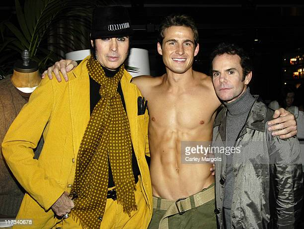 Patrick McDonald, Matt Ratliff and guest during Abercrombie & Fitch Store Opening on 5th Avenue in New York City at A & F 5th Avenue in New York...