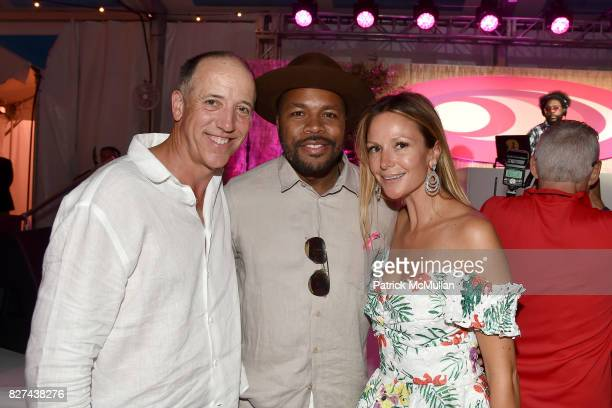 Patrick McMahon D Nice and Kristen McMahon attend Sixth Annual Hamptons Paddle and Party for Pink Benefitting the Breast Cancer Research Foundation...