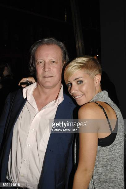 Patrick McMullan and Amanda Leigh Dunn attend ALEXANDER WANG After Party at The Gas Station at Milk Studios on September 12 2009 in New York City