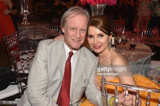 Patrick McMullan and Jean Shafiroff attend the 60th Annual Summer Party For Stony Brook Southampton Hospital on August 4 2018 in Southampton New York