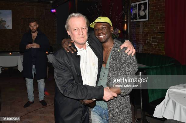 Patrick McMullan and Joseph Pizzi attends Morgan O'Connor's Performance and Party at Jue Lan Club on March 1 2018 in New York City