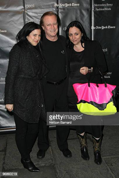 Patrick McMullan and Kelly Cutrone along with guest attend So Long Bryant Park at Bryant Park on February 18 2010 in New York City