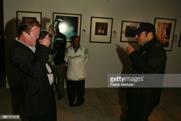 Patrick McMullan and Kevin Dornan attend An Evening of Photography To Benefit CITY HARVEST at Skylight Studios on September 18 2008 in New York City