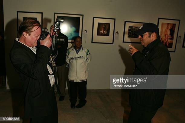 Patrick McMullan and Kevin Dornan attend THE NATIONAL AUDUBON SOCIETY Presents the Rachel Carson Award at Skylight Studios on May 22 2007 in New York...