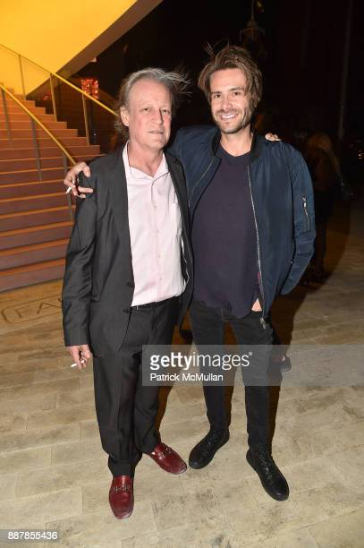 Patrick McMullan and Nicholas Hunt attend the After Party at Faena Forum on December 4 2017 in Miami Beach Florida