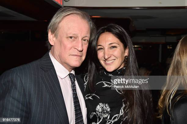 Patrick McMullan and Nicole Ramano attend the Nicole Miller Fall 2018 Runway Show After Party at Slowly Shirley on February 9 2018 in New York City