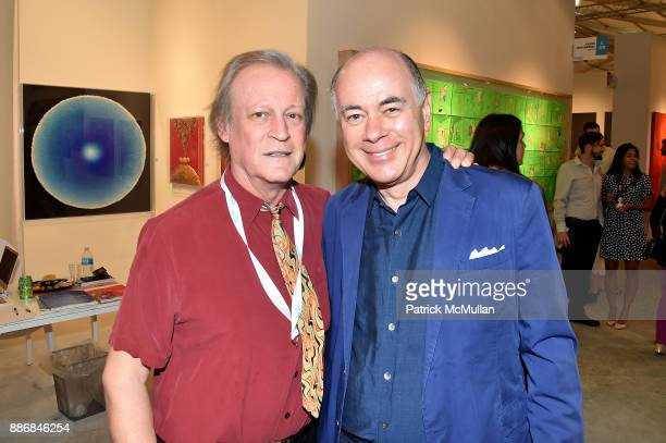 Patrick McMullan and Rick Frieberg attend the CONTEXT Art Miami VIP Preview at The CONTEXT Art Miami Pavilion on December 5 2017 in Miami Florida