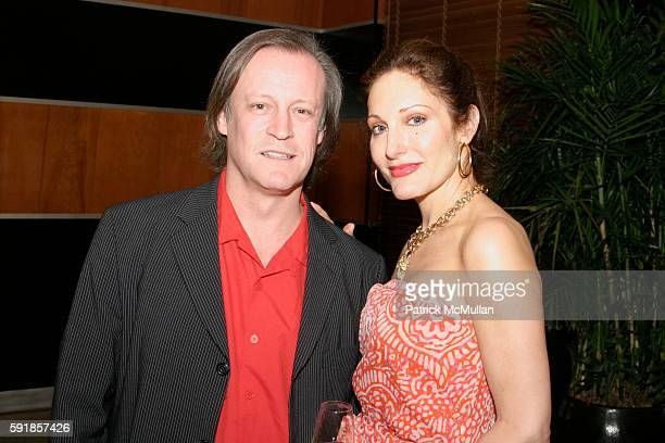 Patrick McMullan and Tara Soloman attend Champagne Perrier Jouet 1998 Fleur de Champagne Dinner hosted by Esteban Cortazar at The Raleigh Hotel on...