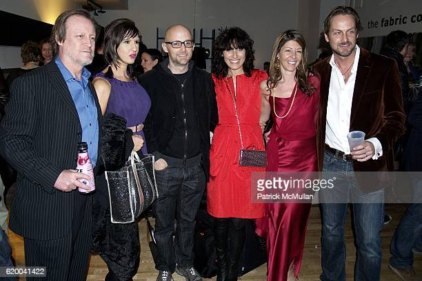 Patrick McMullan Anka Radakovich Moby Lisa Edelstein Sally Randall Brunger and Andrew Brunger attend KolDesign and BoConcept's annual Holiday party...