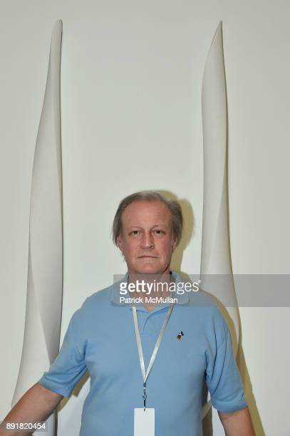 Patrick McMullan attends Art Basel Miami Beach Private Day at Miami Beach Convention Center on December 6 2017 in Miami Beach Florida