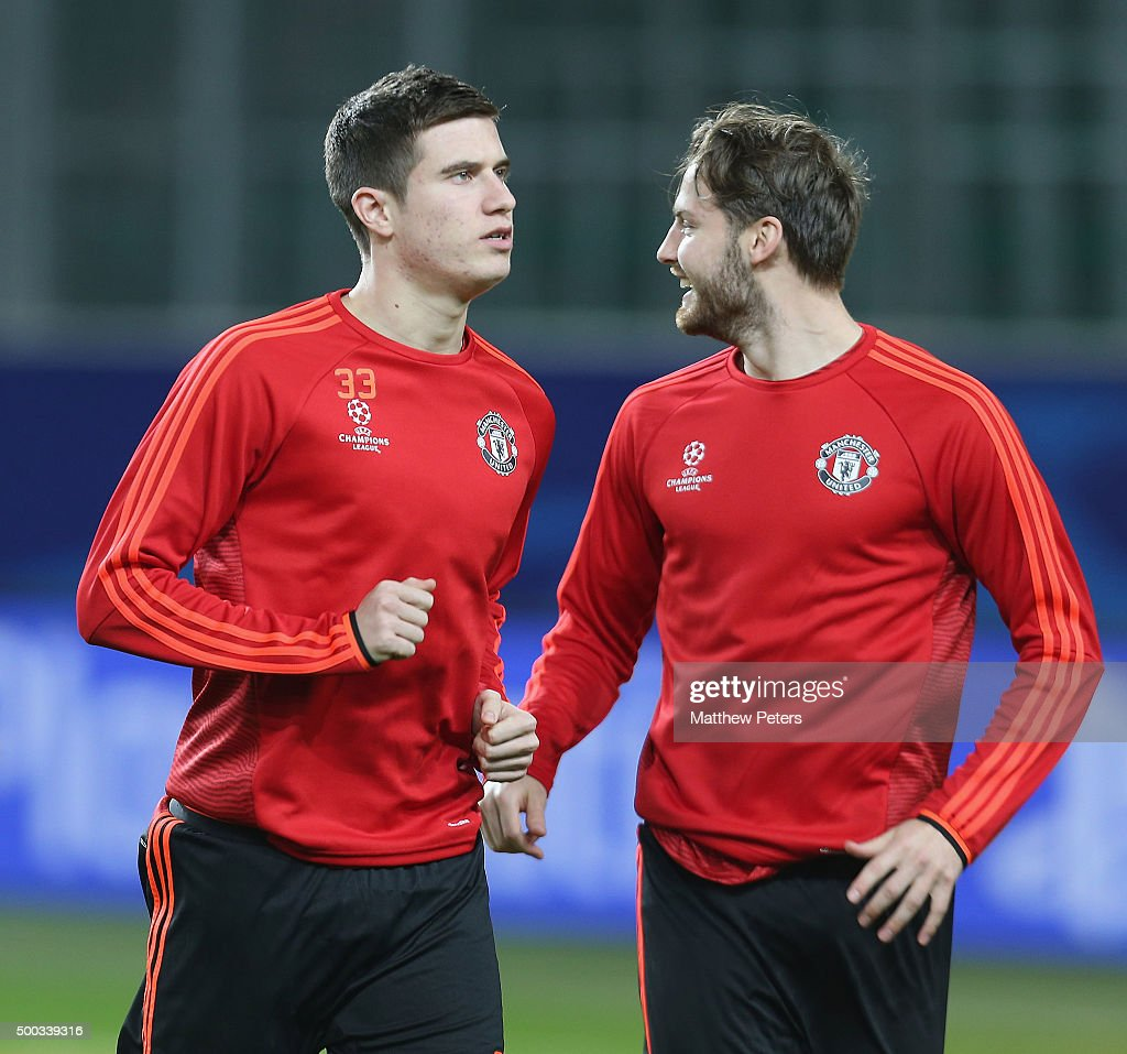 Manchester United  - Training & Press Conference : News Photo