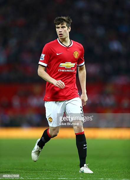 Patrick McNair of Manchester United looks on during the Barclays Premier League match between Manchester United and Newcastle United at Old Trafford...