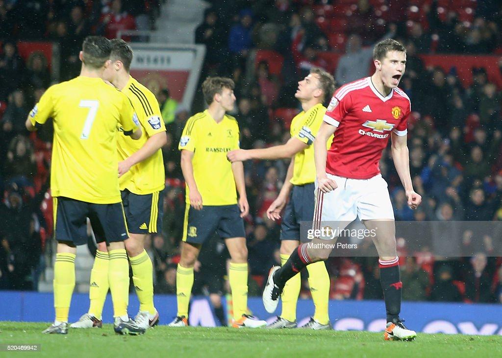 Manchester United v Middlesbrough: U21 Premier League