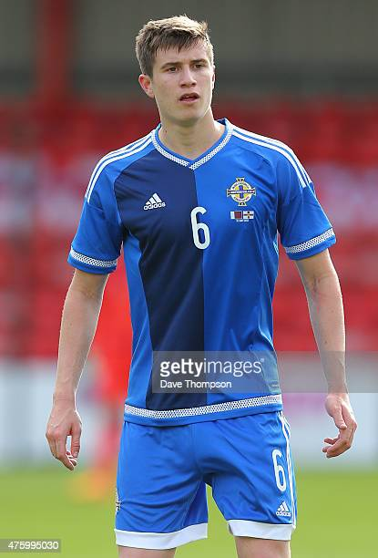 Patrick McNair of Northern Ireland during the International friendly match between Northern Ireland and Qatar at The Alexandra Stadium on May 31 2015...