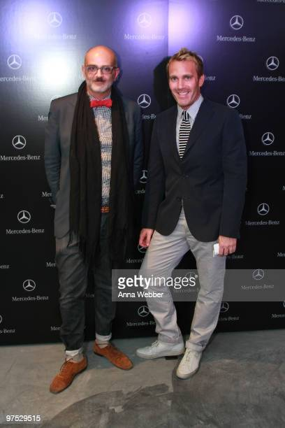Patrick Milani and guest arrive at Soho House on March 7 2010 in West Hollywood California