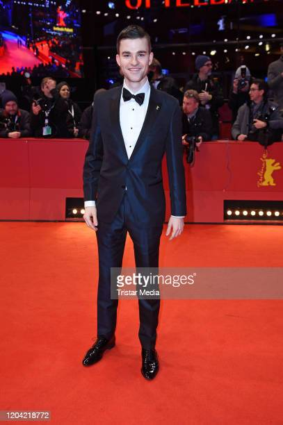 Patrick Moelleken arrives for the closing ceremony of the 70th Berlinale International Film Festival Berlin at Berlinale Palace on February 29 2020...