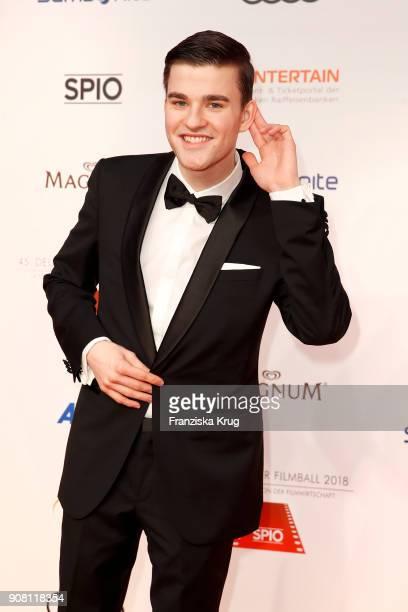 Patrick Moelleken attends the German Film Ball 2018 at Hotel Bayerischer Hof on January 20 2018 in Munich Germany