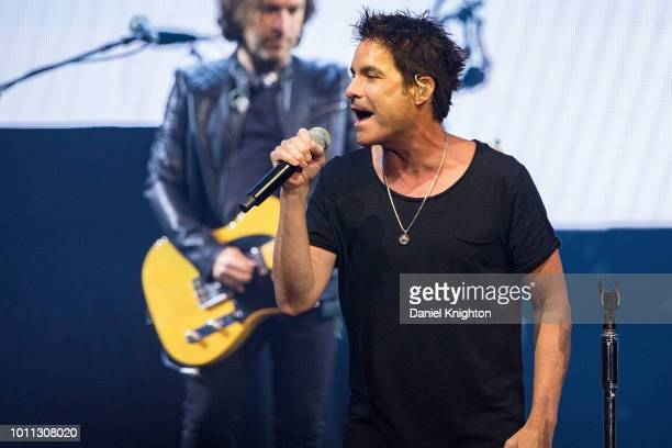 daryl hall and john oates perform with train at viejas arena