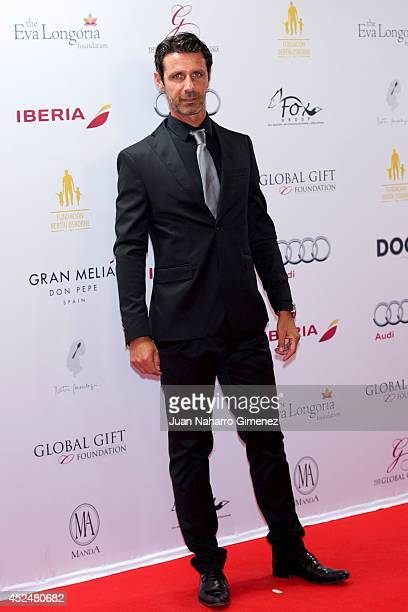 Patrick Mouratoglou attends Global Gift Gala 2014 at Melia Don Pepe Hotel on July 20 2014 in Marbella Spain