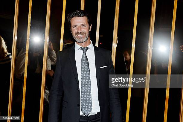 Patrick Mouratoglou attends The Premiere of EPIX Original Documentary 'Serena' After Party at Boom Boom Room on June 13 2016 in New York City