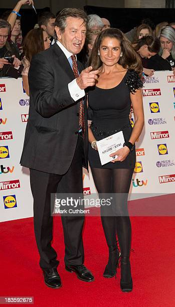 Patrick Mower and Anya Pope attend the Pride of Britain awards at Grosvenor House on October 7 2013 in London England