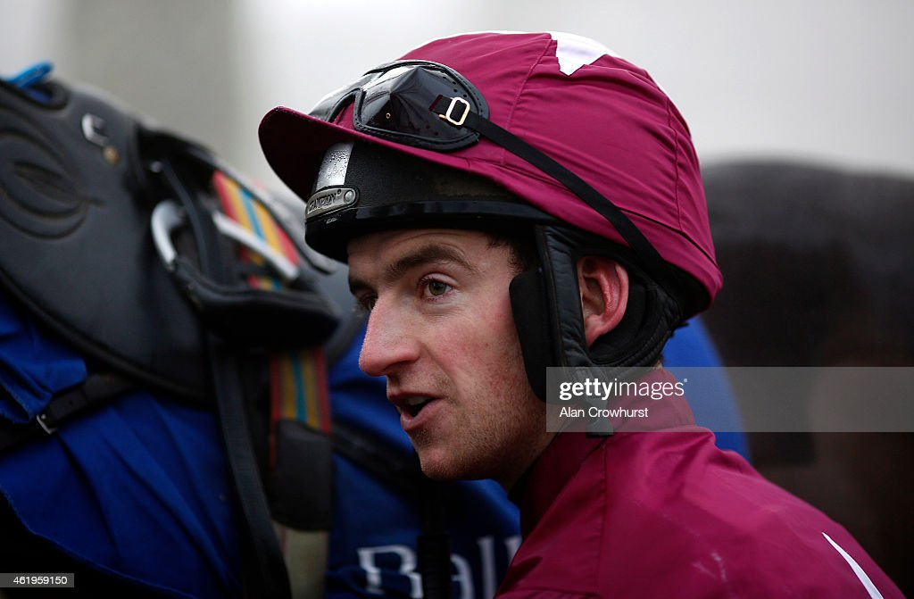 Patrick Mullins poses at Gowran Park racecourse on January 22, 2015 in Kilkenny, Ireland.