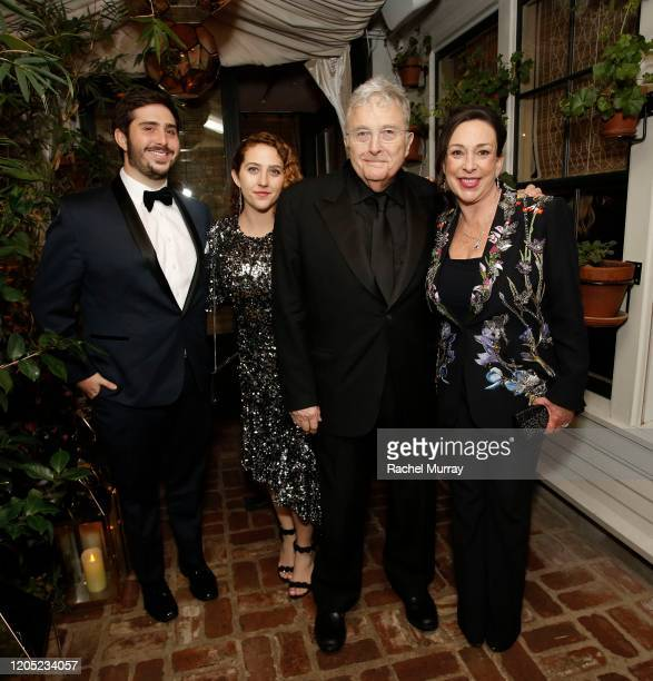 Patrick Newman Alice Newman Randy Newman and Gretchen Preece attends the 2020 Netflix Oscar After Party at San Vicente Bugalows on February 09 2020...