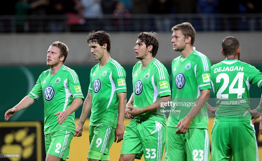 RB Leipzig v VfL Wolfsburg - DFB Cup