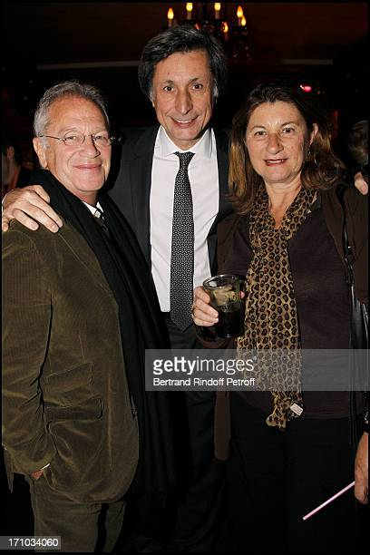 Patrick of Carolis between Bernard Murat and his wife Zana Murat at Launch Of Web Site Of Drunk Driving Awareness Association Ferdinand Chesnais