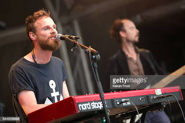 Patrick O'Laoghaire aka I Have A Tribe performs at CastlePalooza festival at Charville Castle on July 3 2016 in Tullamore Ireland