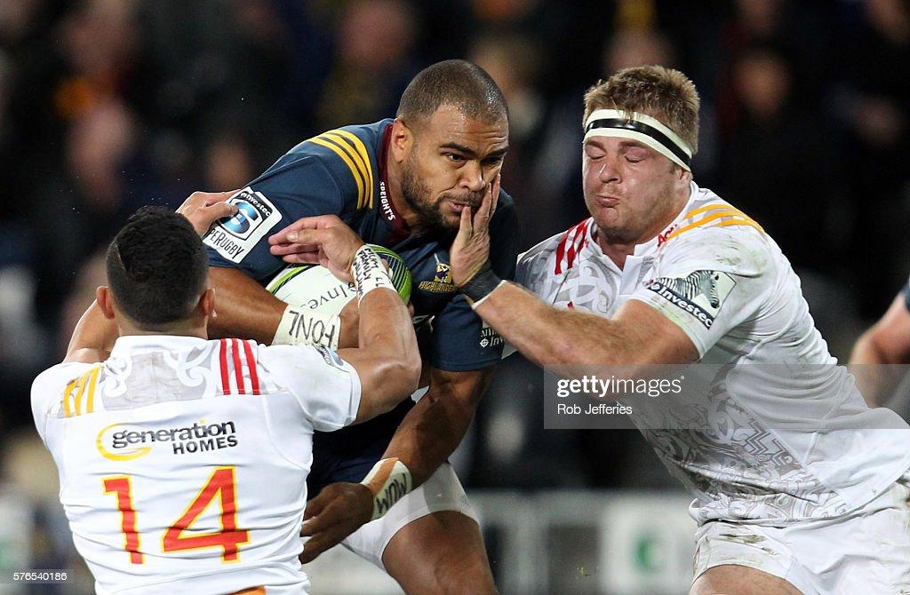 Super Rugby Rd 17 - Highlanders v Chiefs