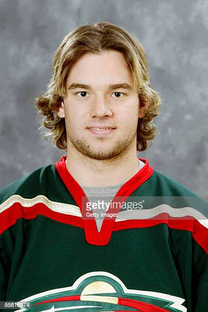 Patrick O'Sullivan of the Minnesota Wild poses for a portrait at Xcel Energy Center on September 122005 in Saint PaulMinnesota