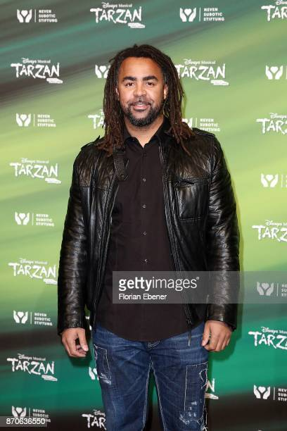 Patrick Owomoyela attends the anniversary celebration of the musical 'Tarzan at Stage Metronom Theater on November 5 2017 in Oberhausen Germany