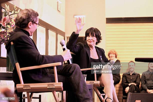 Patrick Pacheco and Chita Rivera promotes 'And Now I Swing' at Barnes Noble Lincoln Triangle on October 19 2009 in New York City