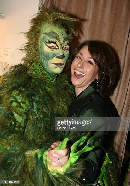 Patrick Page as The Grinch and Paige Davis wife